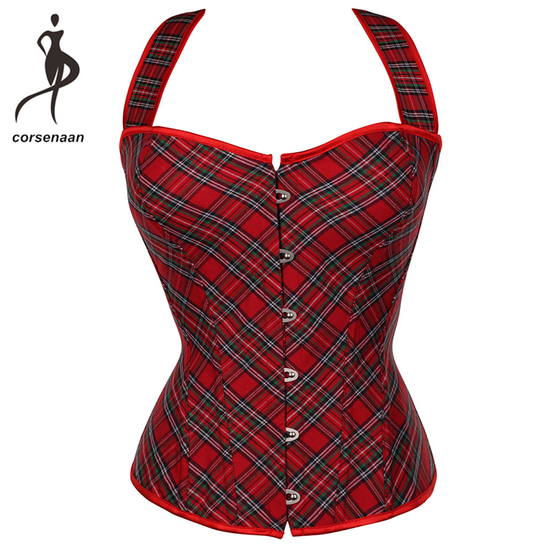 Red Women's Body Shaper Slimming Waist Shapewear Sexy Lingeire Bra   Bustier   Lace Up Boned Spandex   Corset   841#
