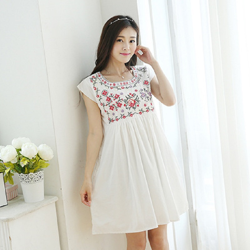 new summer maternity dresses embroidery womens dresses pregnancy dresses maternity clothing summer clothing 16601