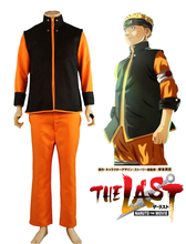Free Shipping Naruto The Movie The Last-Uzumaki Naruto Posters Anime Cosplay Costume