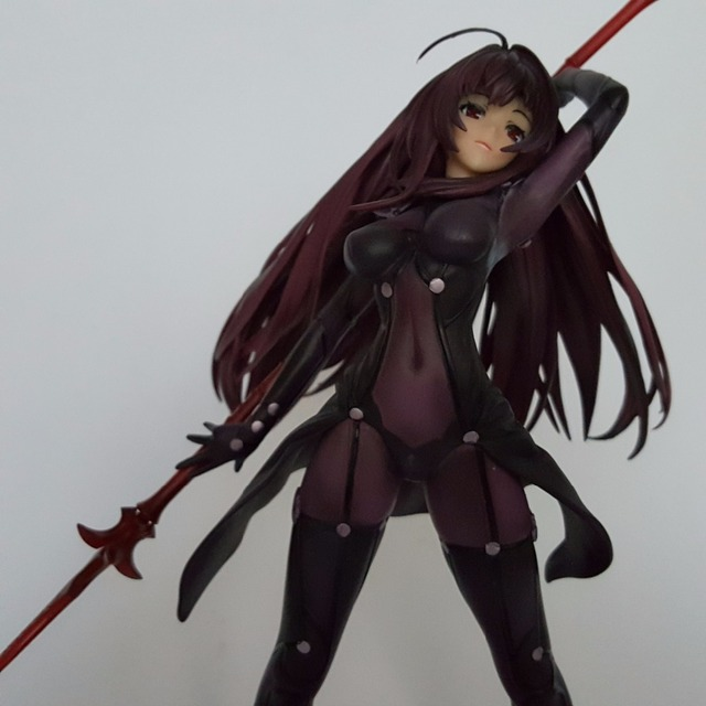 Fate/Stay Night Action Figures Fate Grand Order Lancer PVC 270mm Aquamarine Fate Anime Model Toys Fate Grand Order