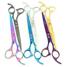 7,0 дюймов 6 цветов ножницы для волос meisha JP440C Парикмахерские ножницы для стрижки волос острые бритвы для волос уход за домашними животными режущие инструменты HB0085