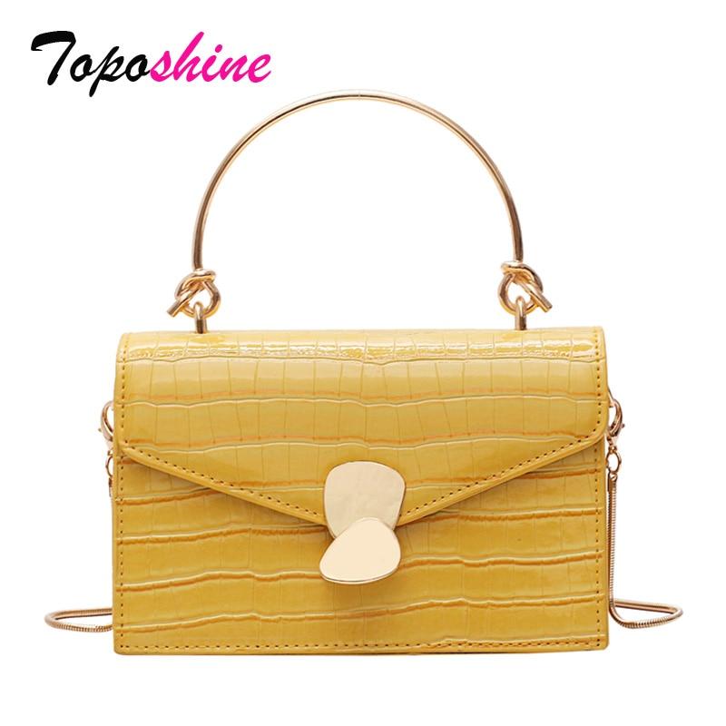 Luxury Stone Pattern Ladies Handbag New Fashion Small Square Bag Casual Wild Shoulder Messenger