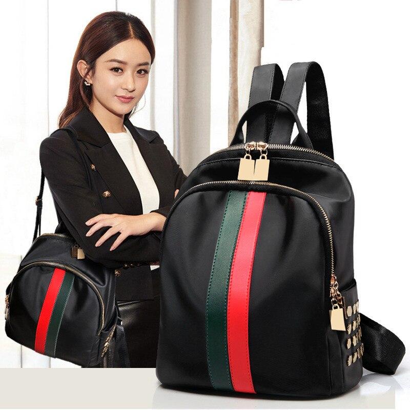2019 femmes sac à dos en simili cuir polyuréthane sac d'école de mode pour adolescent fille voyage sac à dos Mochila Escolar Militar luxe sac en cuir noir