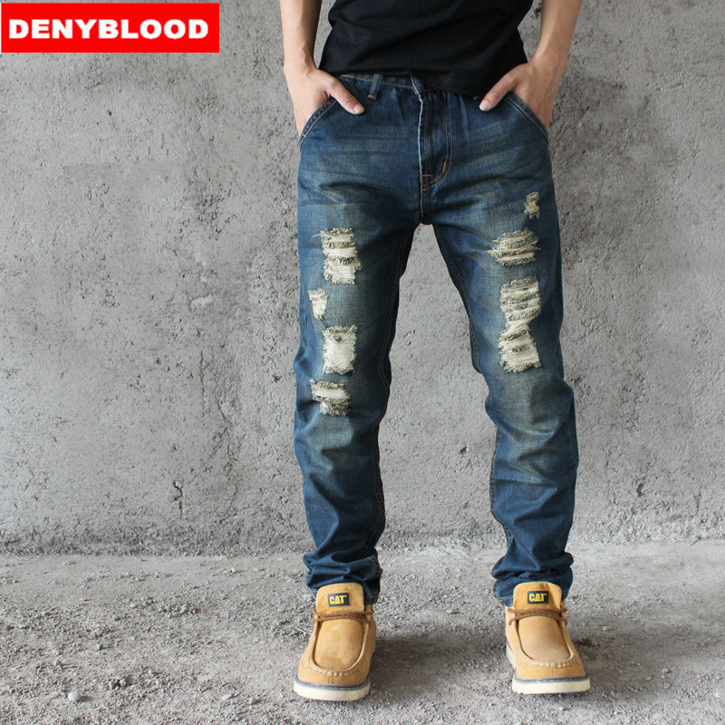 Online Get Cheap Distressed Jeans Men -Aliexpress.com | Alibaba Group