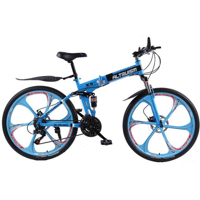 ALTRUISM X9 велосипеды горные велосипеды 26-дюймовый стали 21-скорость велосипедов двойной дисковые тормоза с переменной скоростью дорожных велосипедов гоночный велосипед