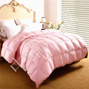 Goose down comforter/hotel covers/single quilt./80s Eiderdown shell/air conditioning quilt & spring and autumn quilt  180*220cm
