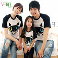 New summer style family matching outfits mother father daughter son matching clothes cotton short sleeve t-shirt for family look