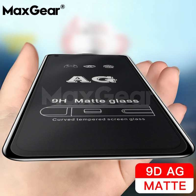 Matte Frosted Tempered Glass For Huawei P10 Plus P20 P30 Pro Lite Nova 3 3i 2i 4 4E Anti-Fingerprint 9D Screen Protector Film