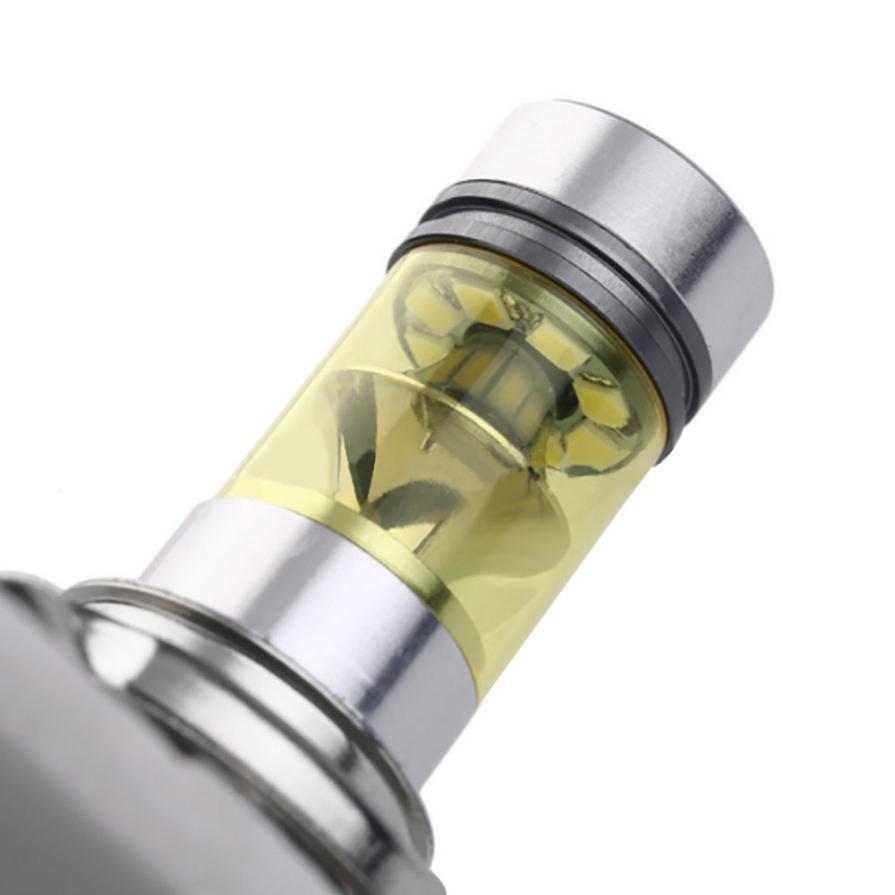 Автомобиль-стайлинг Н7 2323 СИД 100W Противотуманные фары дальнего света HID желтый 4300К лампы ДРЛ td819 челнока