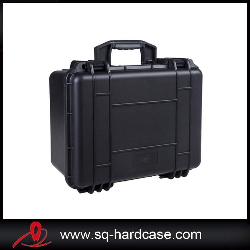 Orange hard plastic storm case with cube foam inserts цена