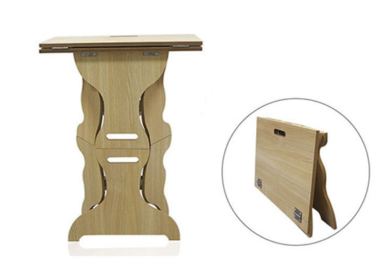 Wooden Pro Fold Up Table For Professional Magician Magic Tricks Stage Illusion Accessories Gimmick Easy to Carry Magia Toys alluminum alloy magic folding table red poker table easy to carry for magicians stage magic tricks magie accessories gimmick