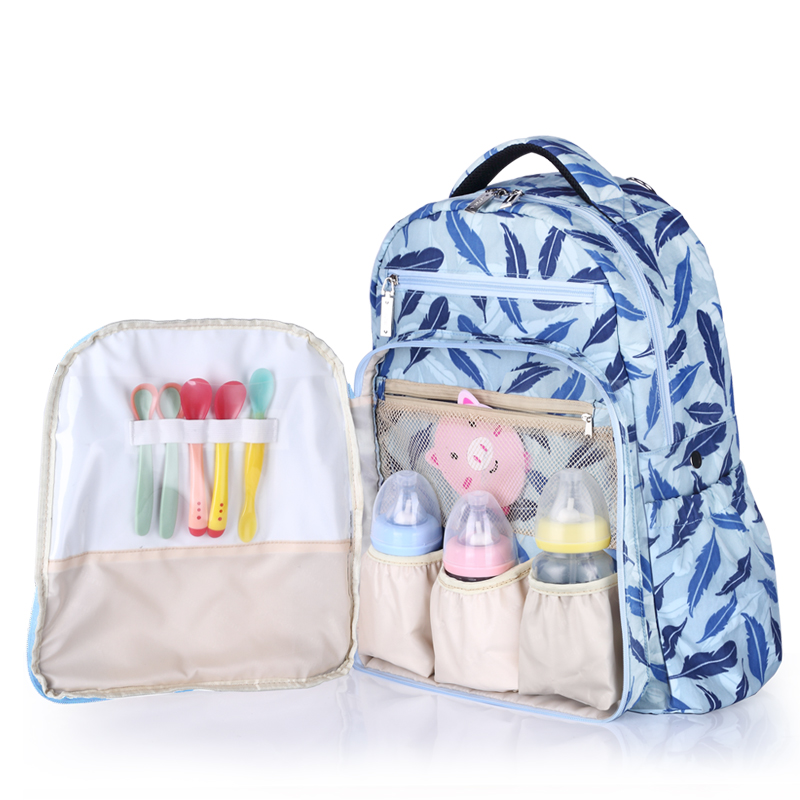 Insular Waterproof Solid backpack diaper bag Nylon Hobos mummy Mochila Large Capacity Maternity Nappy package Stroller coppy