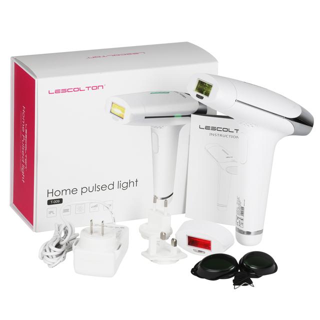 Lescolton 2in1 IPL Laser Hair Removal Machine Electric Laser Epilator Depilador Women Body Bikini Armpit Permanent Hair Removal