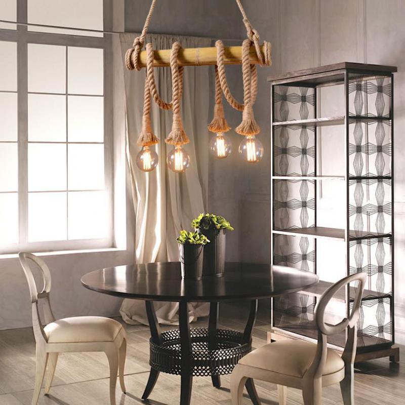 Rustic State Ampoule de plafond style vintage industriel pour cage de bar ou caf/é cuivr/é Fer Balloon Cage
