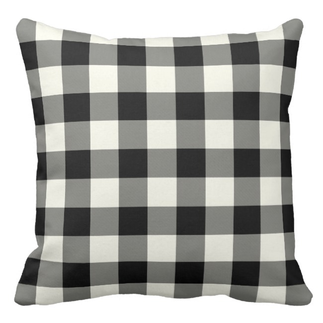 cotton geometric cushion coverblack white outdoor pillow decorative sofa throw pillow