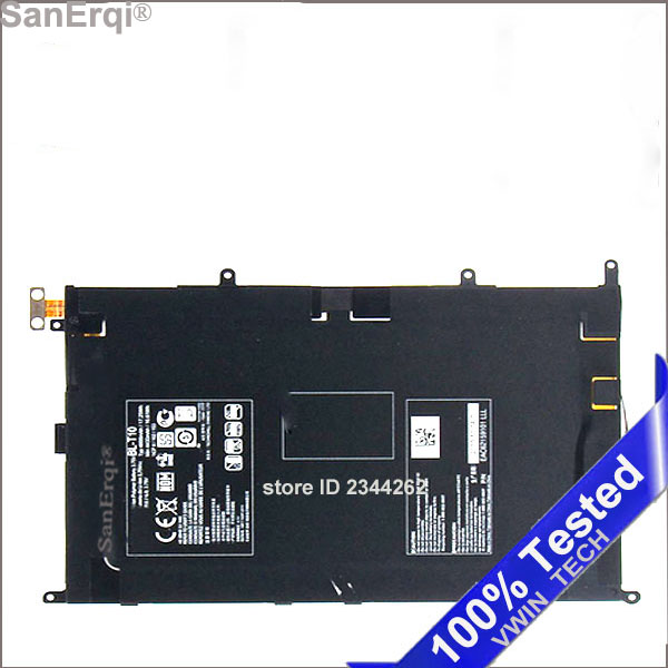 Battery For LG Optimus G Pad G Tablet V500 VK810 GPad 8.3 inch 4600mAh High Quality <font><b>BL</b></font>-<font><b>T10</b></font> / BLT10 / <font><b>BL</b></font> <font><b>T10</b></font> image