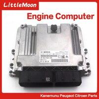Original brand new engine computer Engine control module Control unit ECU for Peugeot 207cc 308 1.6 3008 C4 RCZ