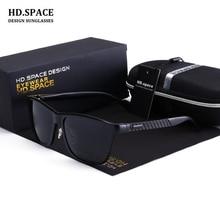 HD.space glasses 2017 Aluminum Mens Polarized Sun Glasses Classic Brand Designer Sunglasses Men Driving Eyewear Pilot Sunglasses