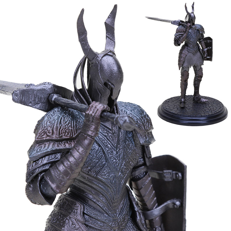 New 21cm Dark Souls Toys SCULPT COLLECTION VOL3 BLACK KNIGHT PVC Action Figure Faraam Knight Artorias Collectible Model Doll Toy