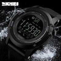 SKMEI 1321 Sports Smart Watch Men Pedometer Shock Water Proof Digital Wristwatch Clock Calorie Bluetooth Watch