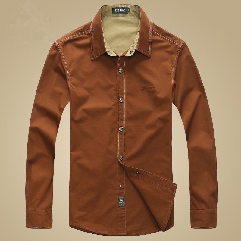 Aliexpress.com : Buy NIANJEEP Brand Denim Shirts 100% Cotton Long ...