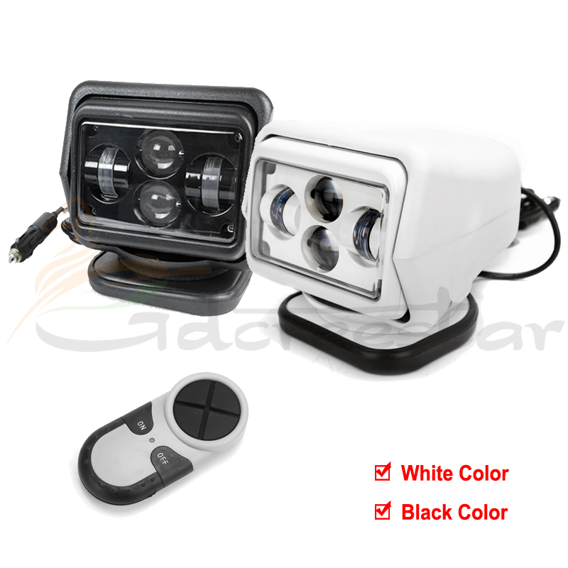 7inch 7 60w led remote control searchlight led spotlight for 4x4 marine camping boat. Black Bedroom Furniture Sets. Home Design Ideas