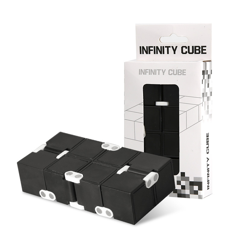 New Trend Infinite Cube Adult Toy Infinity Magic Cubes Office Flip Cubic Puzzle Anti Stress Reliever Autism Toys For Boys ADHD