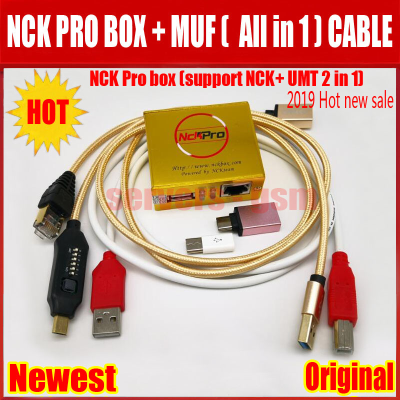 NCK PRO BOX+BOOT Cable (W)