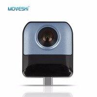 Moveski 720 VR Камера HD видео панорамный вид Широкий формат Dual рыбий глаз Камера H.264 для Android смартфон