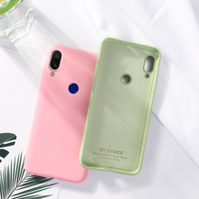 Liquid Silicone Case For Xiaomi Mi A2 Cover for Lite Soft phone on MiA2 lite Xiomi