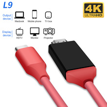 4K USB 3.1 USB-C Type C to HDMI cable HDTV hdmi Adapter for Lenovo ThinkPad X1 2018 MacBook MacBook Pro samsung S8 S9 NOTE8 new original thinkpad x1 carbon4 x1 yoga hdmi to vga dongle fru adapter cable 03x6574