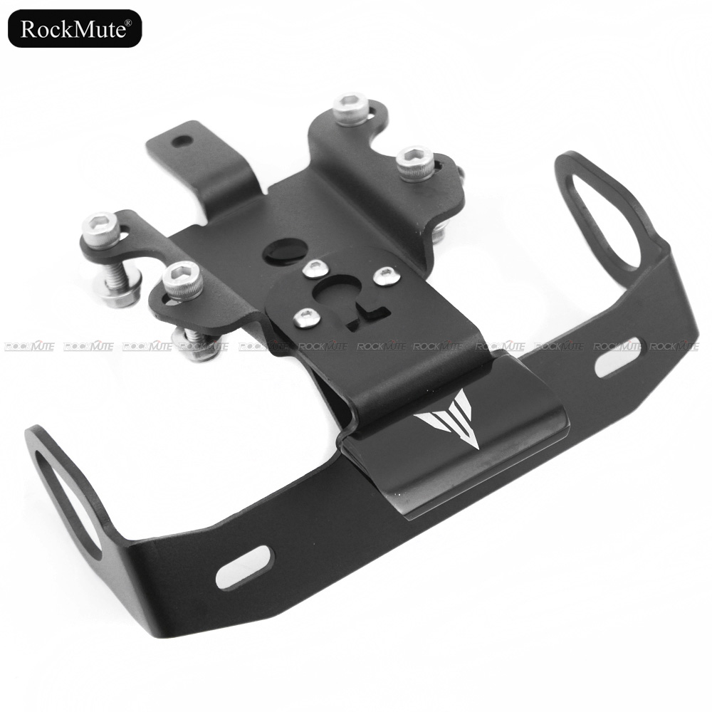 License Plate Bracket Holder Mount Fender Eliminator Tail Tidy For YAMAHA MT07 FZ07 MT 07 FZ 07 2014 2015 2016 2017 2018-in Covers & Ornamental Mouldings from Automobiles & Motorcycles