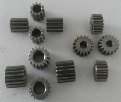 Steel 0.5 Modulus Gear 0.5M 17T 3.175mm 4 Mm 5 Mm Bore Diameter / 0.6 Modulus 0.6M 15T 5mm For 36mm 42mm Planetary Gearbox