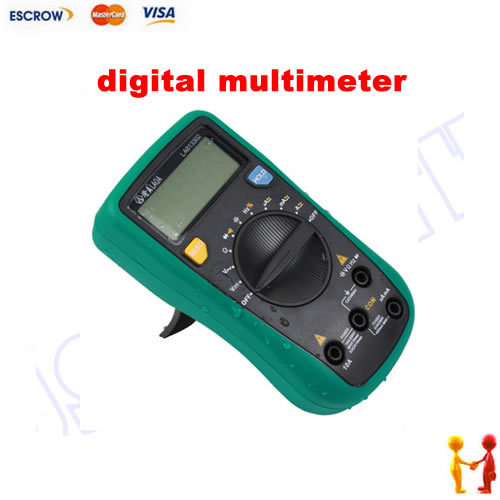 Freeshipping. Digital multimeter LA813302, AUTO RANGE Digital Display Multitester, Anti-burn auto power-off  цены