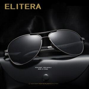 Image 3 - ELITERA Men Polarized Sunglasses 2020 Classic Design Male Aluminum Magnesium Sun Glasses Driving Eyewear For Men/Women