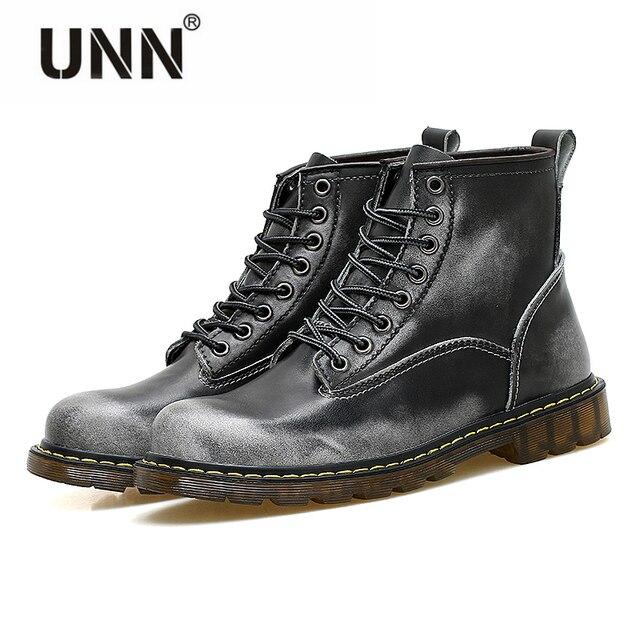Hommes chaussures pour l'hiver Casual Martin bottes bottes de l'armée britannique outillage bottes bas - top travailleurs bottes 9w3x8i5OV