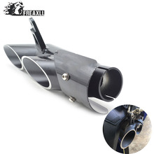 FOR YAMAHA  R6 2006-2015 Motorcycle high quality Modified exhaust TOCE modified pipe bomb personality Street