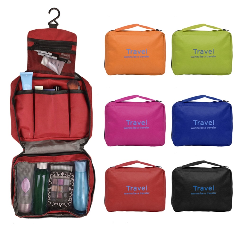 2017 New Outdoors Waterproof Travel Toiletry Bags Boy Cosmetic Bag Male Female Wash Free Shipping Gifts Vy In Cases From