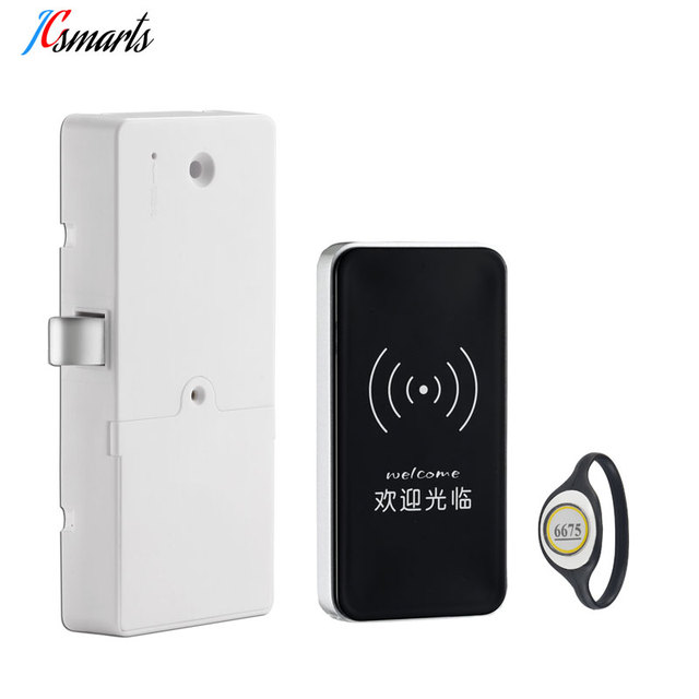 Office Hidden Cabinet Lock Intelligent Id Door Magnetic For Hotel Company Factory