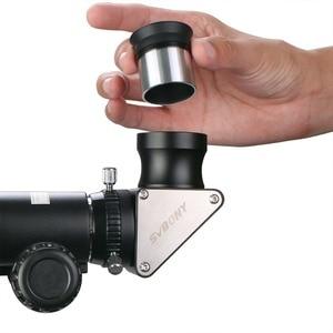 "Image 5 - SVBONYเต็มโลหะ1.25 ""กระจกมุม90องศาสำหรับRefractorกล้องโทรทรรศน์ดาราศาสตร์โลหะเต็มรูปแบบF9171A"