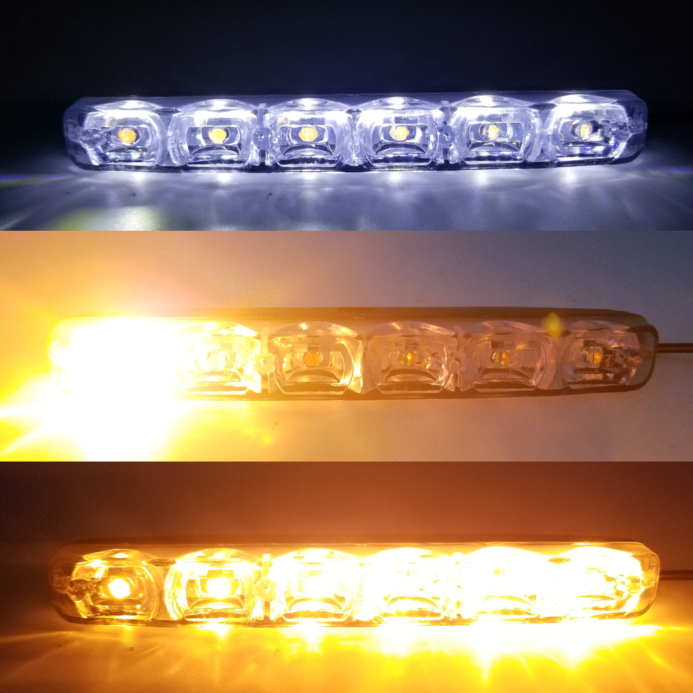 Coomir 1/ pair Daytime Running Led Lights Lamp DC 12/ V High Brightness Waterproof for Audi Q7/ Car