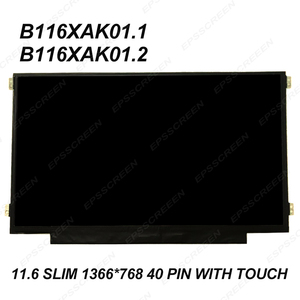 for HP Chromebook 11 G5 EE / G6 EE DISPLAY 1366*768 MATRIX WXGA 11.6'' eDP LCD LED Screen W/ Touch Panel 40 PIN slim +digitized