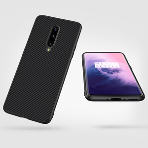 Image 4 - OnePlus 7 Pro Case Casing Nillkin Synthetic fiber Carbon PP Plastic Back Case for OnePlus 7/7 Pro Cover