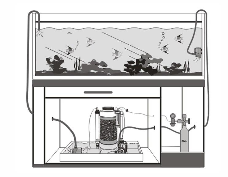 مفاعل الكالسيوم weipro KA 400 ka1000 كا 2000 220 فولت/50 هرتز النسخة-في فلاتر وملحقات من المنزل والحديقة على  مجموعة 3