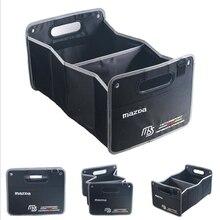Автомобиль Стайлинг MS Багажника Складной Большой Емкости Ящик Для Хранения Автомобиля Для Mazda CX-5 3 6 CX-7 MX-5