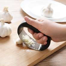 Garlic Press Stainless Steel Manual Grater Grinder Ginger Kitchen Accessories Chopper Crusher
