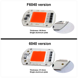 Image 2 - AC220V 110v cob ledチップフィトランプフルスペクトラム 50 ワット 30 ワット 20 ワットledダイオードライトfitolampy苗屋内