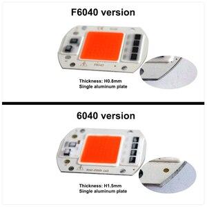 Image 2 - Ac220в 110 В COB светодиодный фито чип лампа полный спектр 50 Вт 30 Вт 20 Вт светодиодный Диод для выращивания растений