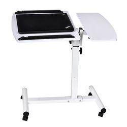 Actionclub Lifting portátil móvil mesa de ordenador escritorio mesita de noche sofá cama Escritorio de aprendizaje mesa de ordenador portátil plegable Mesa ajustable
