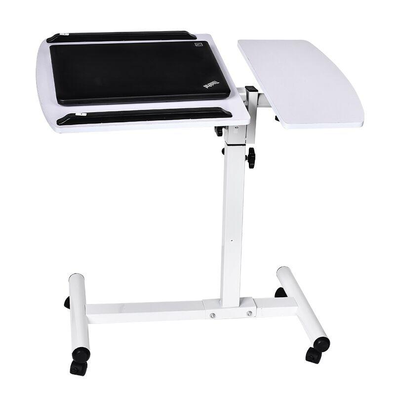 Actionclub Table portable de levage Mobile ordinateur bureau chevet canapé lit apprentissage bureau support pliant pour ordinateur portable Table réglable